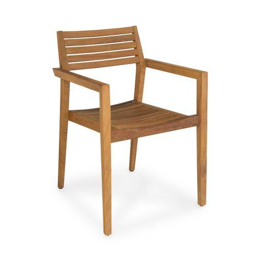 Barcelona drvena stolica za blagovanje